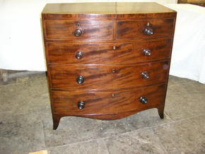 Completed Regency Chest of drawers