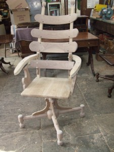 Chair Making - French Dentist Chair Completed